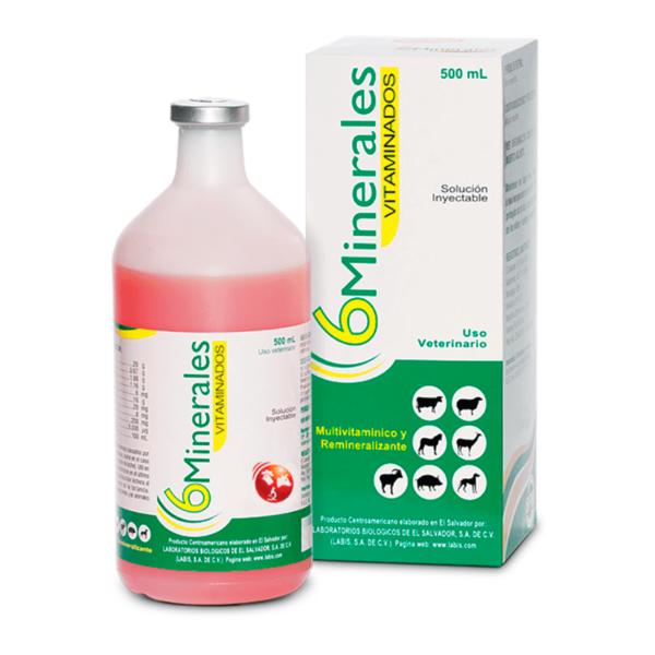 6 minerales vitaminados